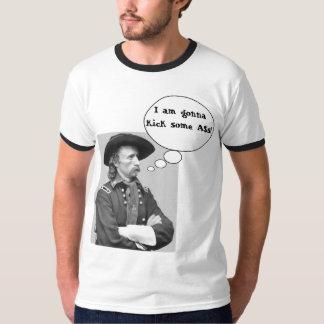 ¡Custer golpea A$s con el pie! Camiseta