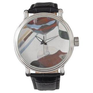 Custom reloj wine