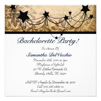 CUTE Bachelorette party diseñador Invites Invitaciones Personales