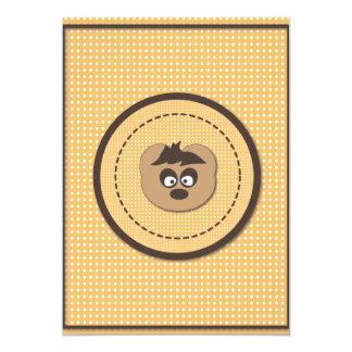 Cute osito Bear Invitación 12,7 X 17,8 Cm