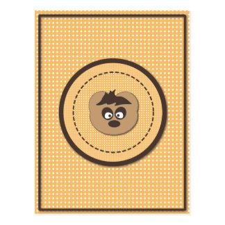 Cute osito Bear Postal