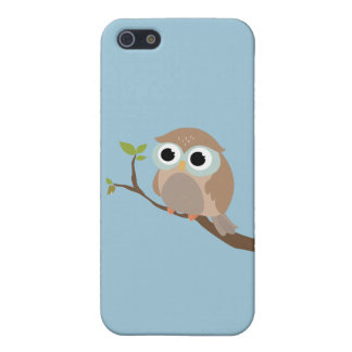 Cute owl iPhone 5 funda
