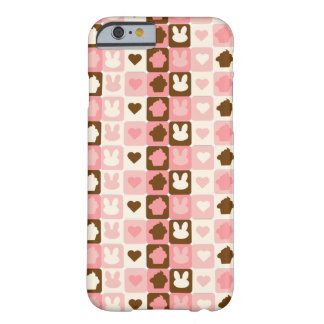 Cute pattern phone case funda barely there iPhone 6