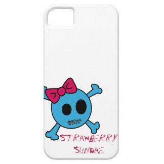 Cute Skull Iphone iPhone 5 Funda