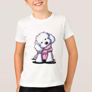 Cuteness maltés camiseta