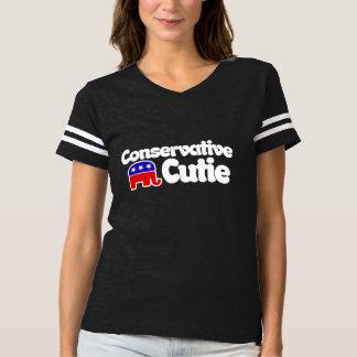 Cutie conservador camiseta