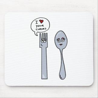Cutlery Alfombrilla De Ratón