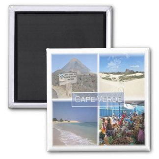 CV * Cabo Verde - mosaico Imán