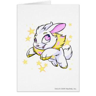 Cybunny eléctrico mágico tarjeta de felicitación