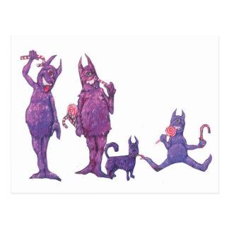 Cyclopes púrpura postal