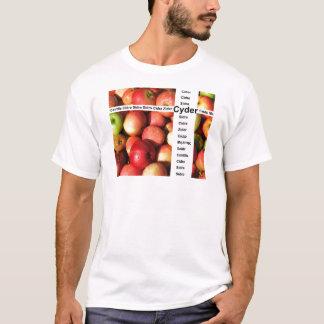 Cyder - sidra real de la lleno-fruta camiseta