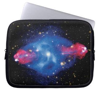 Cygnus una foto del espacio exterior del montaje funda para ordenador