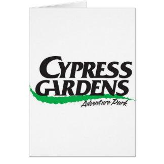 Cypress cultiva un huerto el parque de la aventura tarjeton