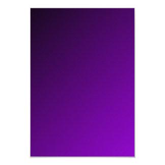 D1 pendiente linear - negro a la violeta invitación 8,9 x 12,7 cm