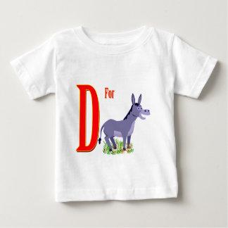 D para el burro camiseta
