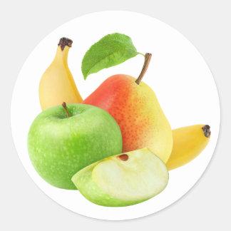 Da fruto #15 pegatina redonda