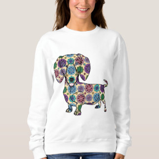 Dachshund - camiseta coloreada