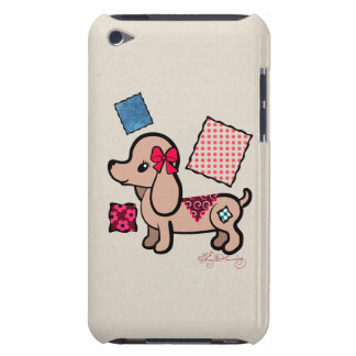 Dachshund lindo iPod touch Case-Mate funda