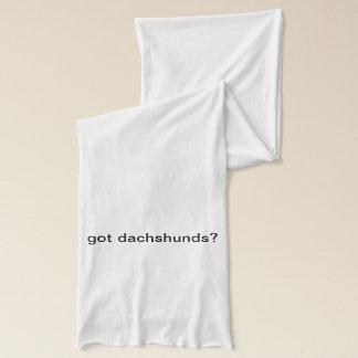 ¿dachshunds conseguidos? Bufanda del jersey