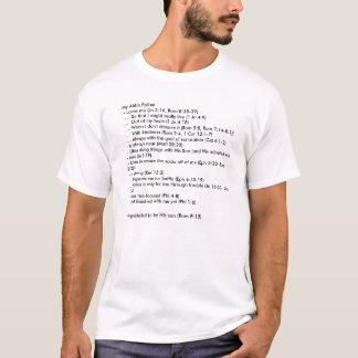 Dadism - papá cristiano camiseta
