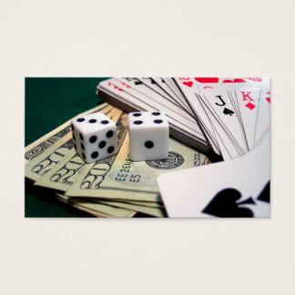 Dados de las tarjetas del dinero
