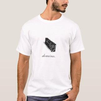 Dados del dominó camiseta