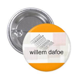 dafoe de Willem Chapa Redonda De 2,5 Cm