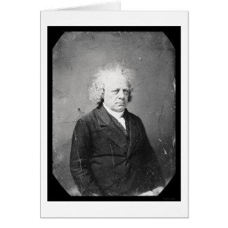 Daguerreotype 1845 de Juan Francisco del médico Tarjeta