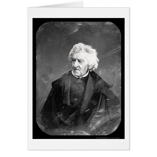 Daguerreotype 1846 de Cranch de la justicia Tarjeta De Felicitación