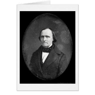 Daguerreotype 1852 de la caza del periodista tarjeta de felicitación