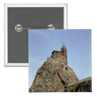 d'Aiguilhe del Saint Michel (foto) Chapa Cuadrada 5 Cm