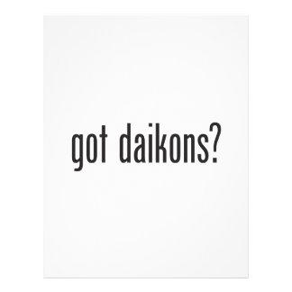 daikons conseguidos tarjeton