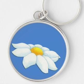 Daisy blue Premium Keychain