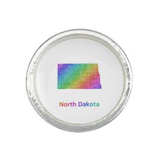 Dakota del Norte Anillo Con Foto