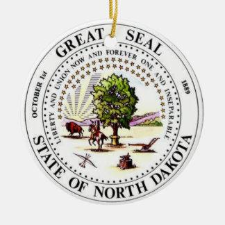 Dakota del Norte * ornamento del navidad