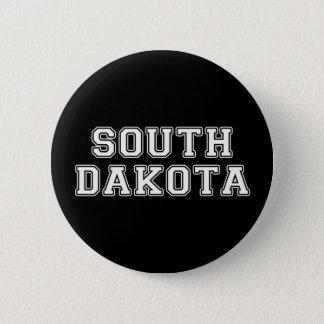 Dakota del Sur Chapa Redonda De 5 Cm