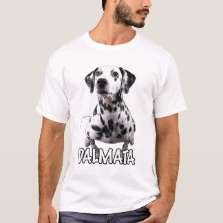 "Dalmata ""el color claro de la mascota"" 01 camiseta"