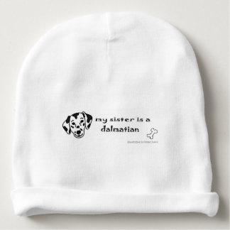 dalmatian gorrito para bebe