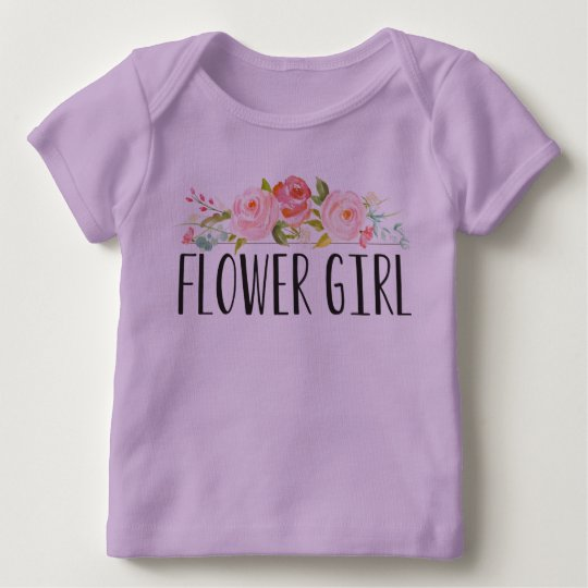 Dama de honor de la camiseta el | del bebé del