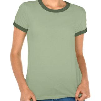 Damas luchador Shirt lechuza - verde -
