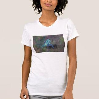 Damas T-shirt con representación abstracta de Camiseta