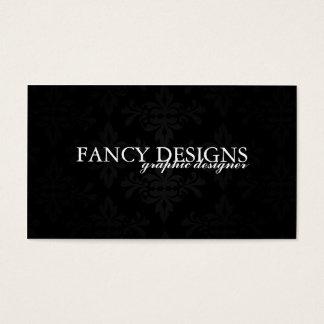 Damasco elegante tarjeta de negocios