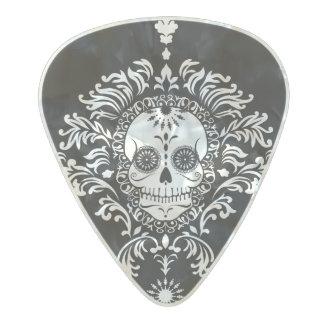 Damasco muerto - púa de guitarra elegante del púa de guitarra celuloide nacarado