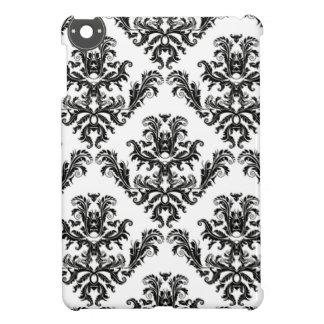 Damasco negro y blanco Damask pattern
