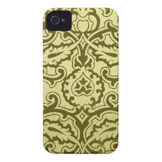 Damasco precioso del vintage (3) iPhone 4 protector