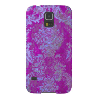 Damasco/púrpura del natasha de PixDezines Carcasa Galaxy S5