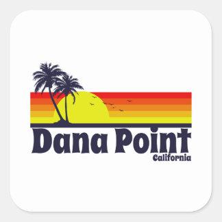 Dana Point California Pegatina Cuadrada