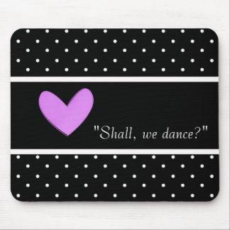 DANCE-LOVE-ROMANCE-TEMPLATE-VINTAGE-STYLISH ALFOMBRILLA DE RATÓN