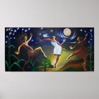 Dancin en el claro de luna póster
