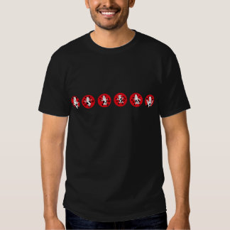 DancingCow10 Camisetas